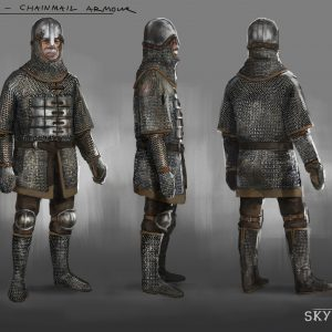 Chainmail-armor