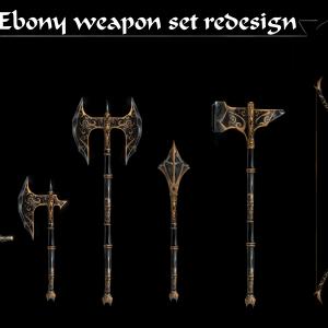Ebony_weapon_set
